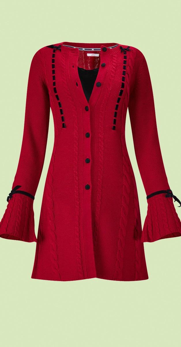 Vintage Clothing - Vintage - Velvet Button Cardigan
