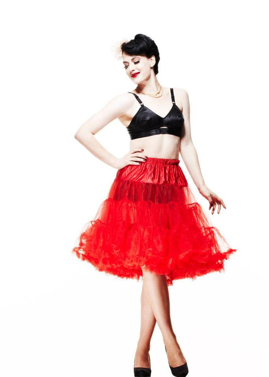Petticoats- Red-65cm Long