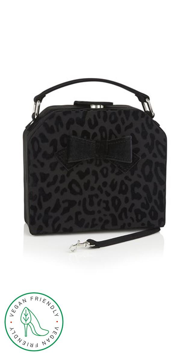 Vintage Retro Handbag - Sante Fe - Black