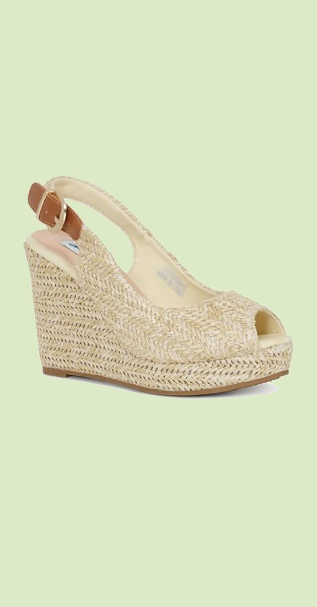 Vintage Stil Schuhe Debra Wedge