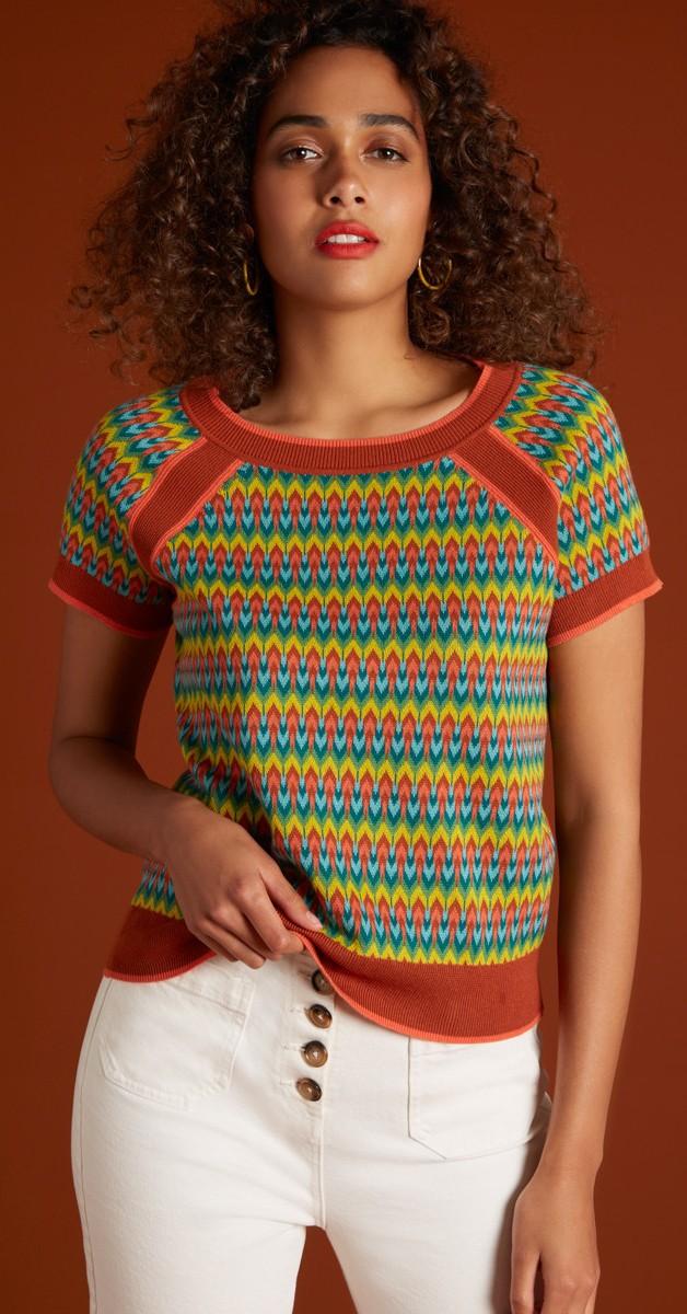 Retro Style Clothing - Raglan Top Ladyland