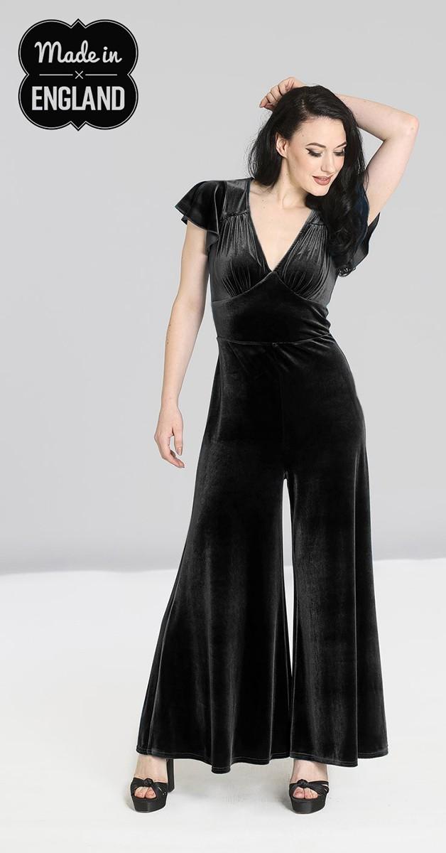 Vintage Clothing - Mischa Jumpsuit - Black