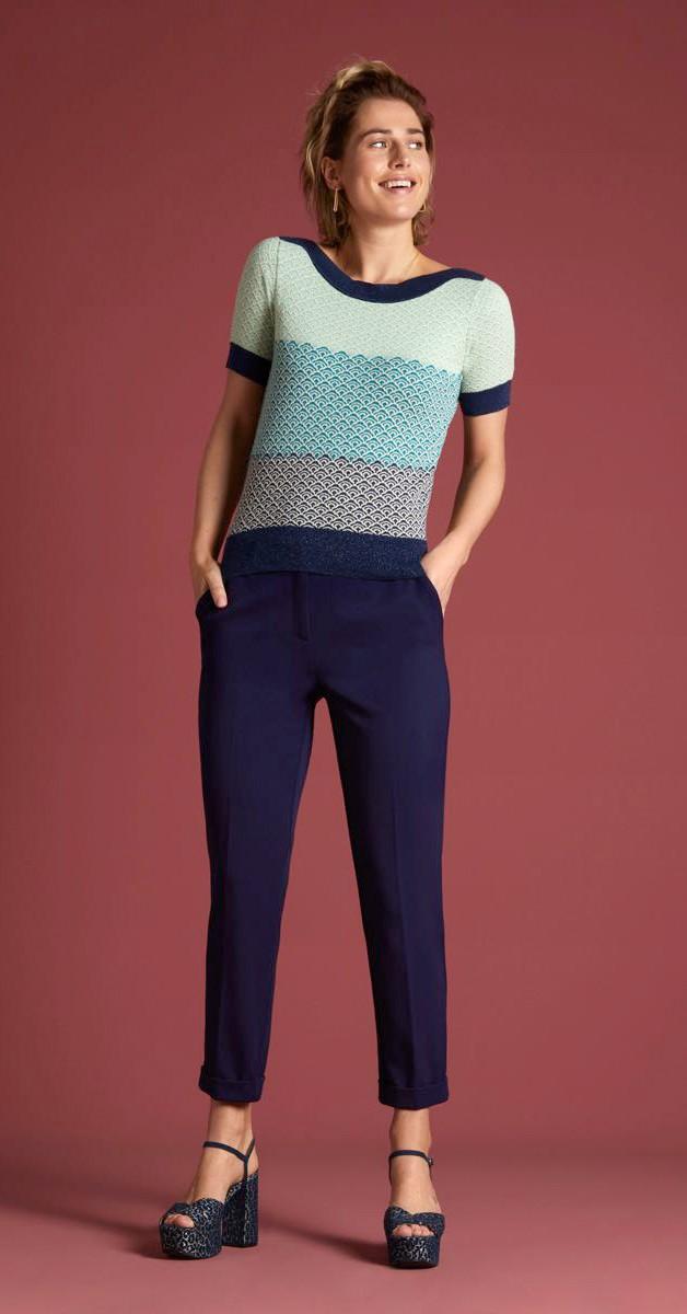 Retro Style Clothing - Audrey Top Bondi
