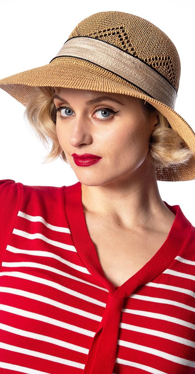 Vintage Retro Accessories -Tiki Club Hat