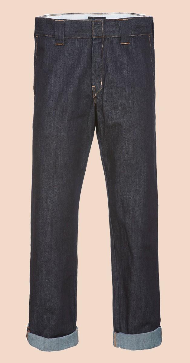 Dickies Jeans Slim Fit Straight Leg Denim Work Pant