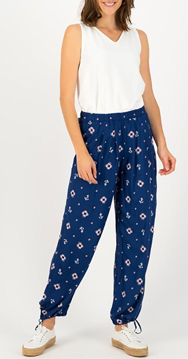 Retro High-Waist-Trousers precious ease