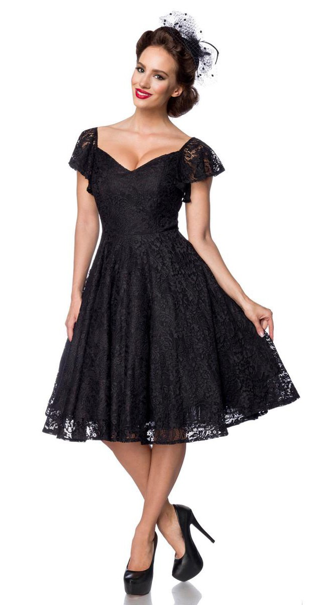 Vintage Clothing Lace Swing Dress