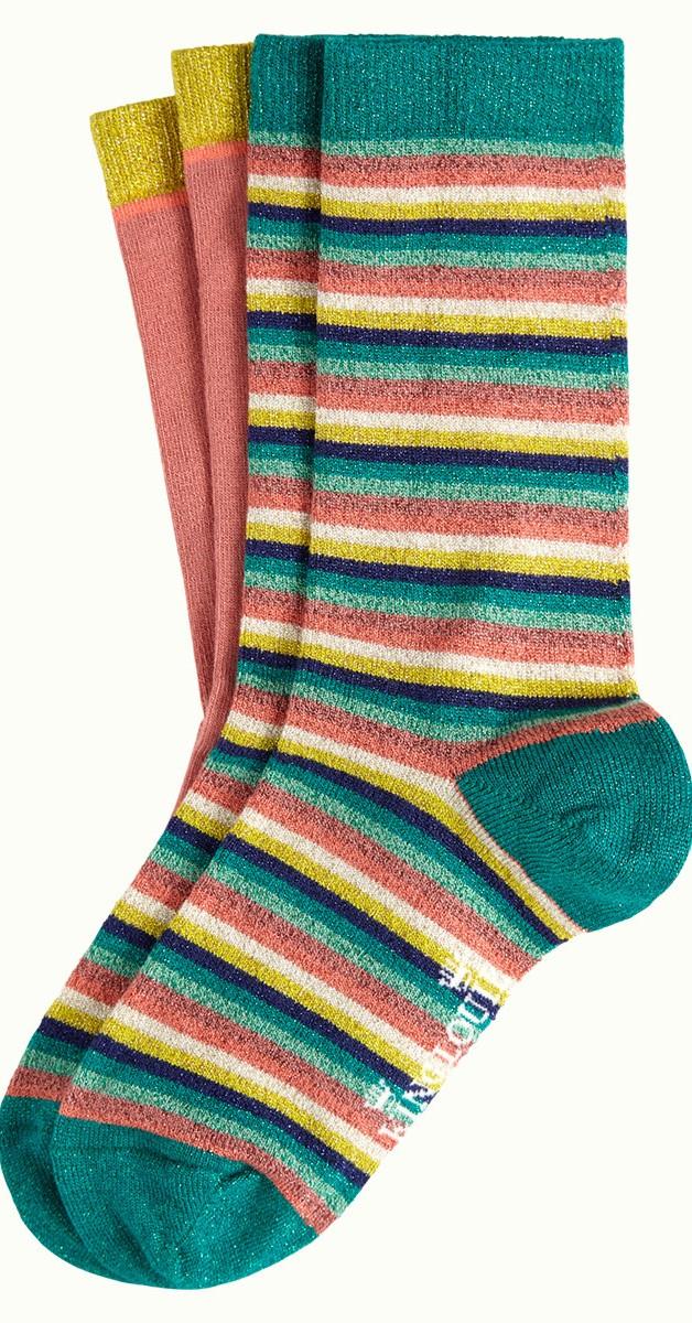 Vintage Retro Accessories - Socks 2-Pack Daydream
