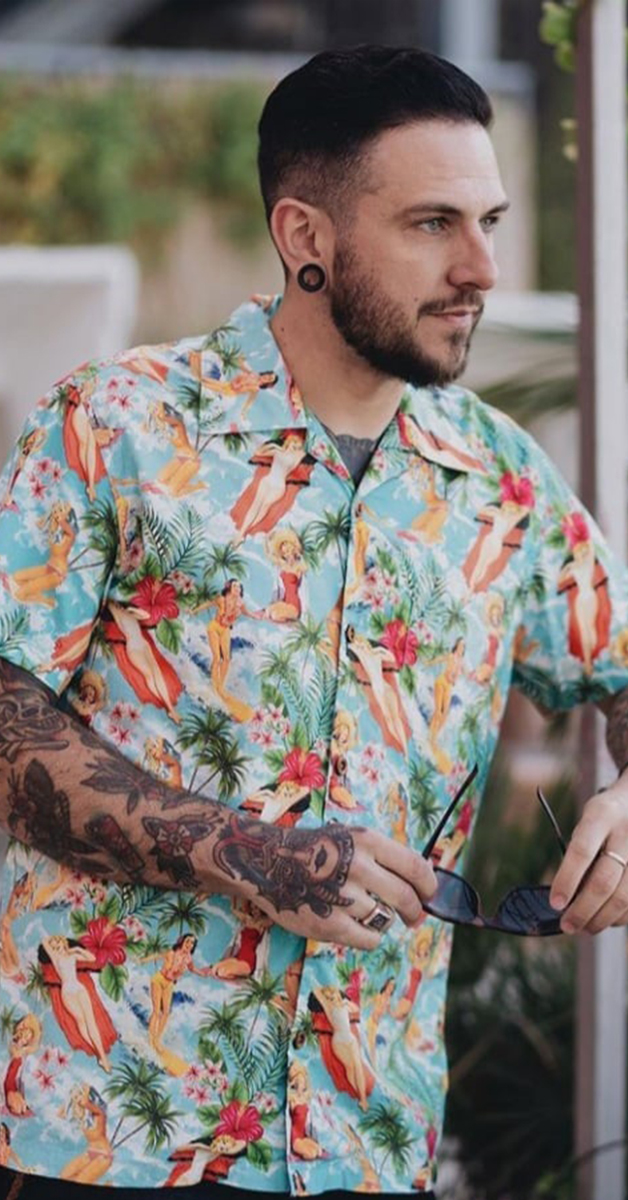 Hawaii Shirt Vintage Summer
