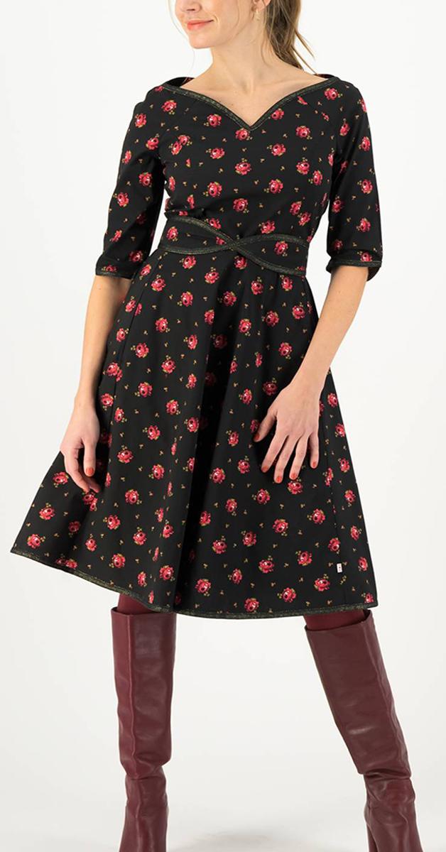 Vintage Stil Kleid- Thanksgiving Love Belladonna