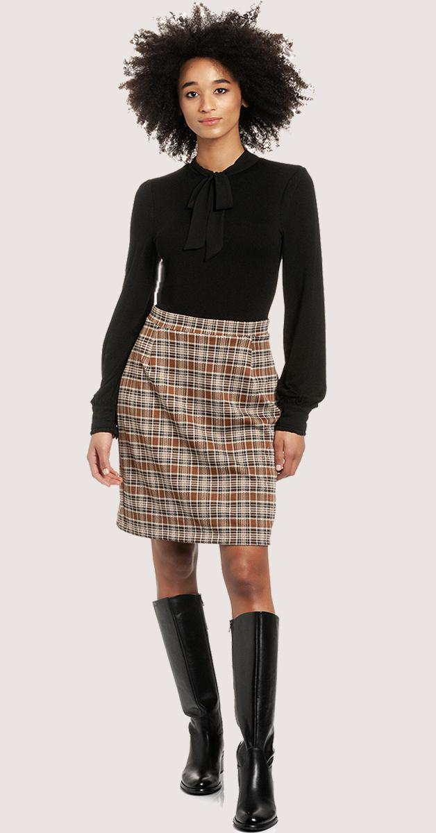 Retro preppy day dress Blousedress