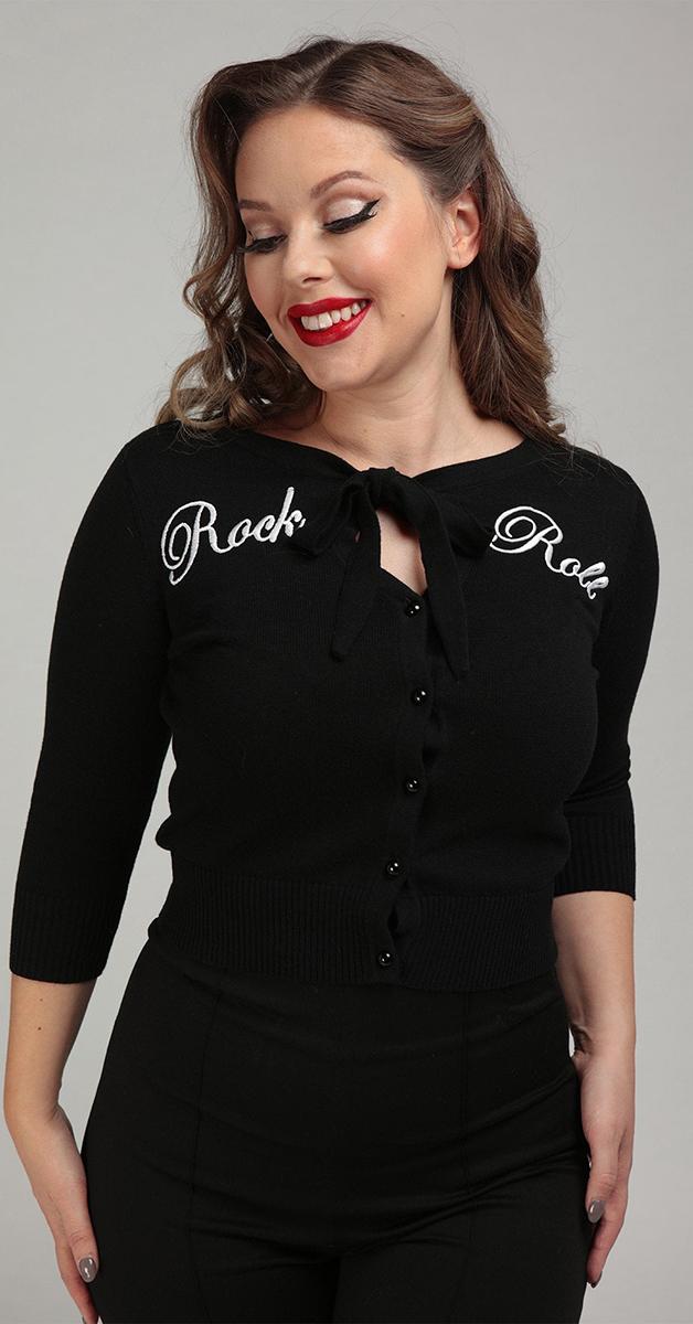 Rockabilly  Cardigan Mainline Charlene Rock Roll