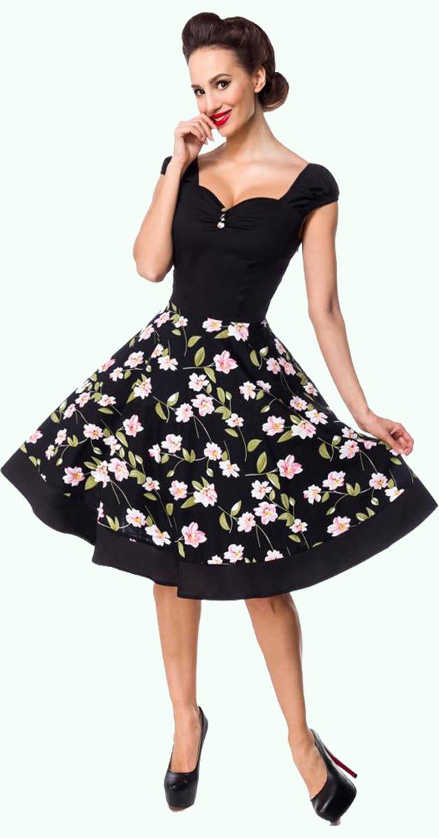 Retro Style Dress  - Flower Dress