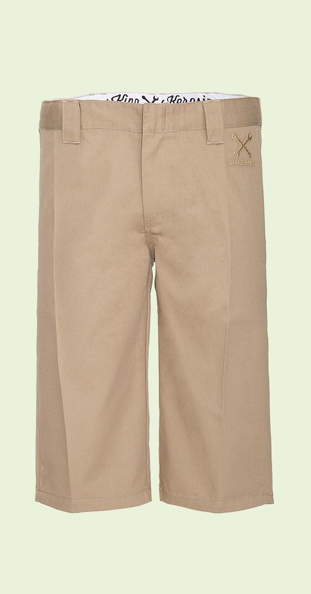 King Kerosin Workwear Shorts Camel