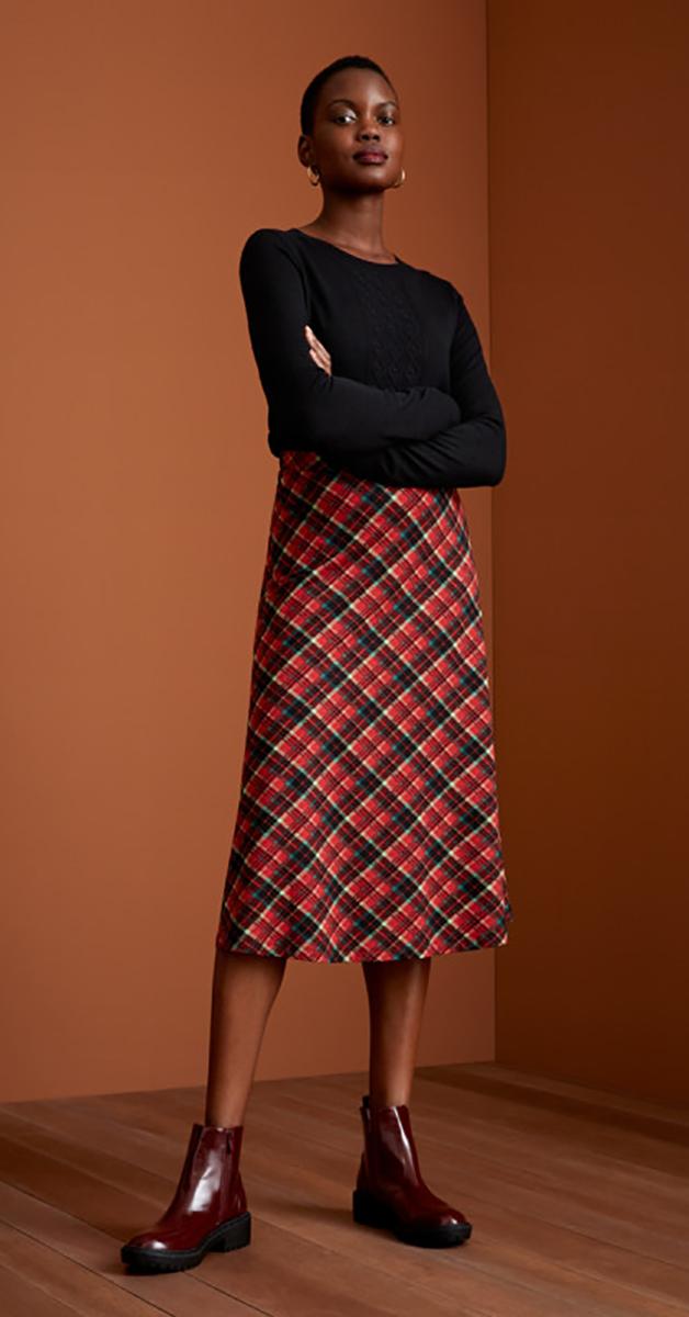Retro Skirt Juno midi Chatham