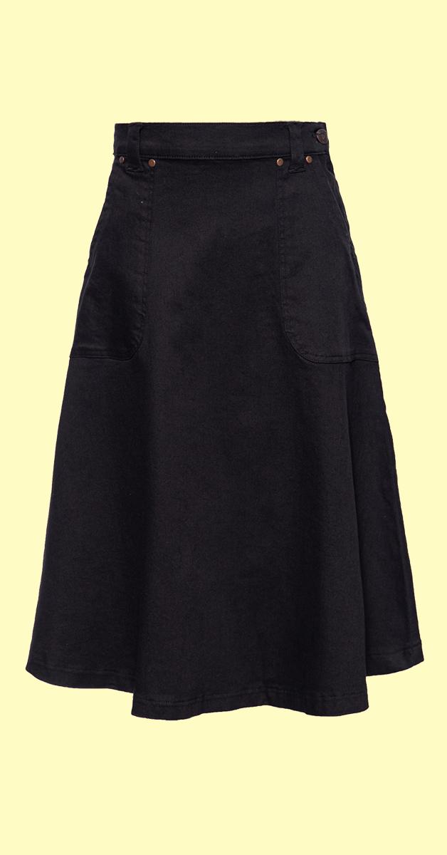 50s Denim Swingrock, black rinsed wash