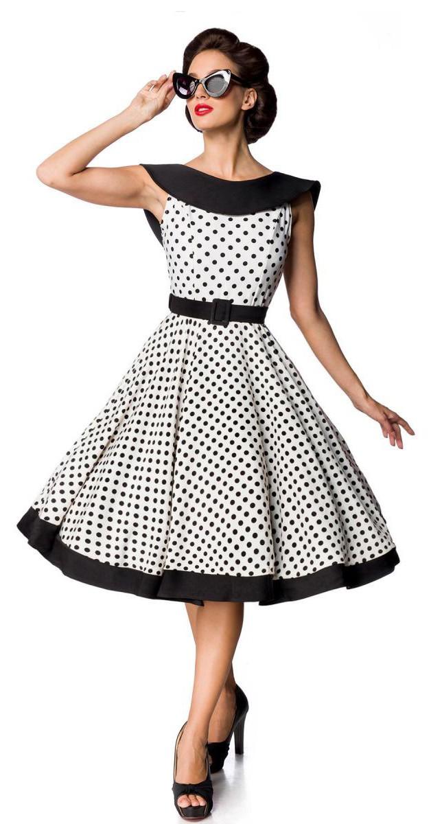 Vintage Bekleidung - Jersey Vintage Swing  Kleid