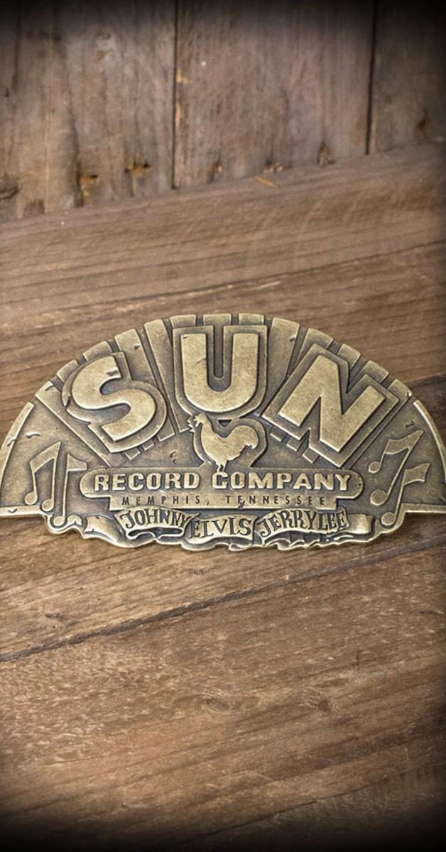 Rockabilly Accessoires - Gürtelschnalle - Sun Records Company - Special Edition