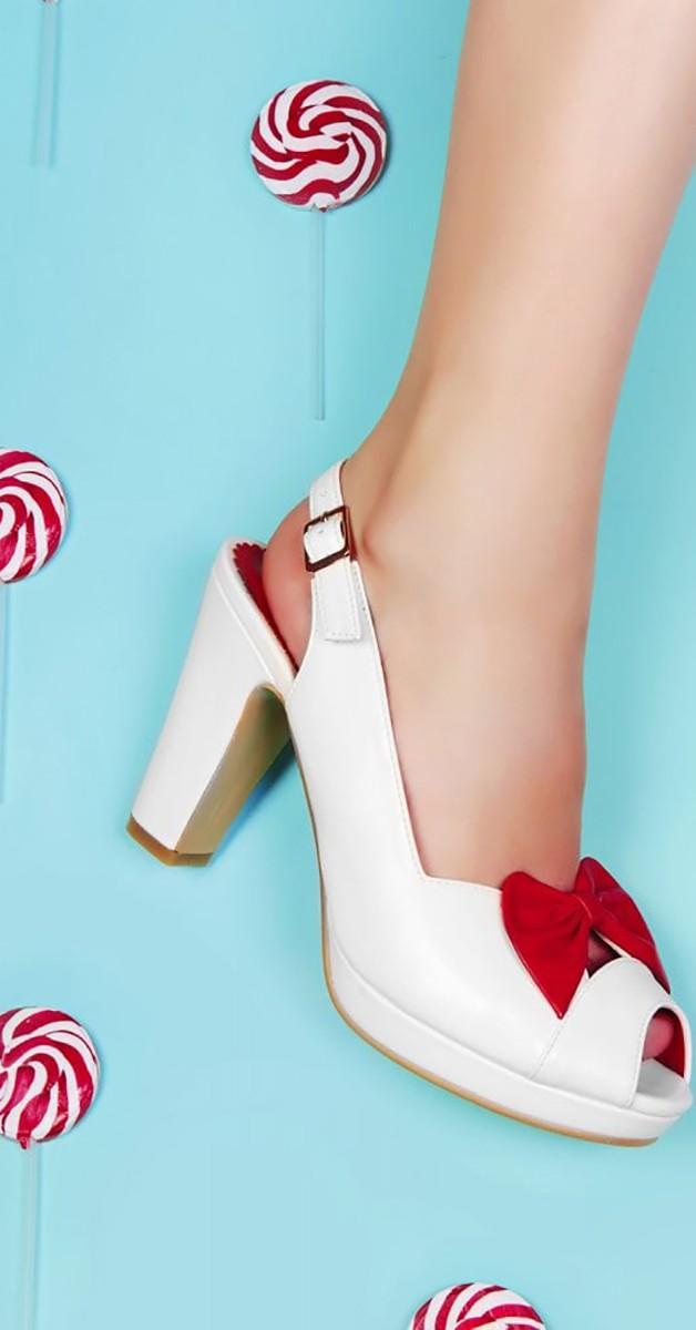 Vintage Stil  Schuhe - Susan High Heel