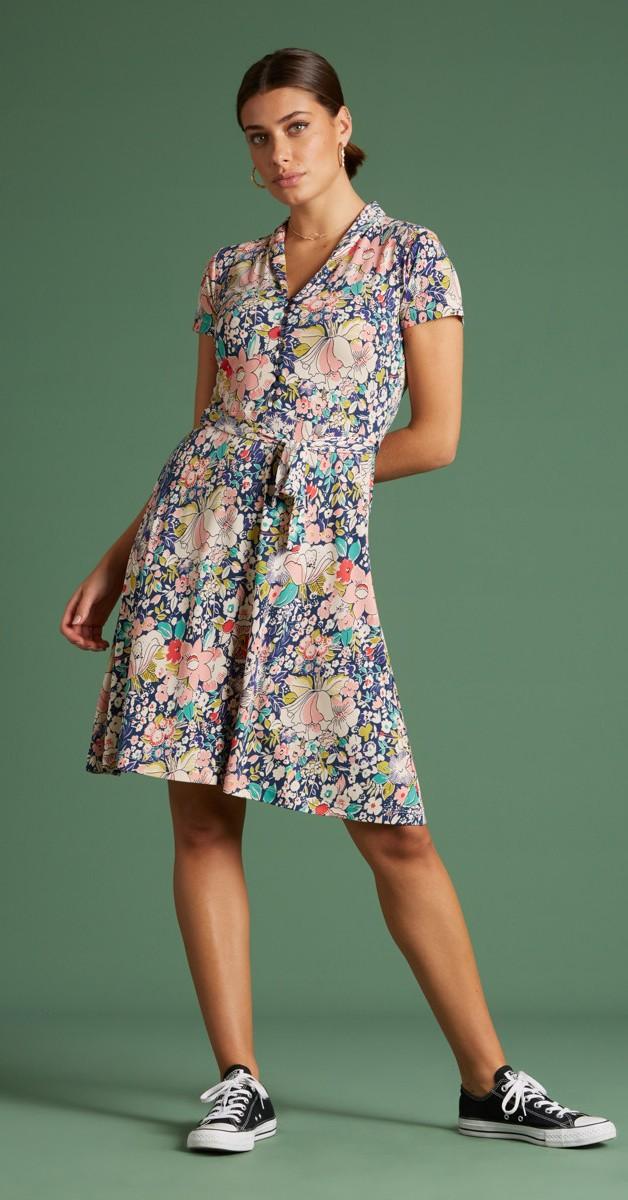 Retro Stil Mode- Kleid -  Emmy Dress Capitola