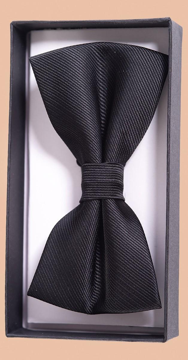 Vintage Accessoires - Fliege - Ribbon Dance Bow - Schwarz