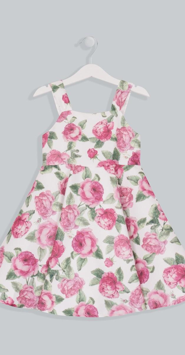 Vintage Retro Kleid - Lissie Girls Dress - Floral