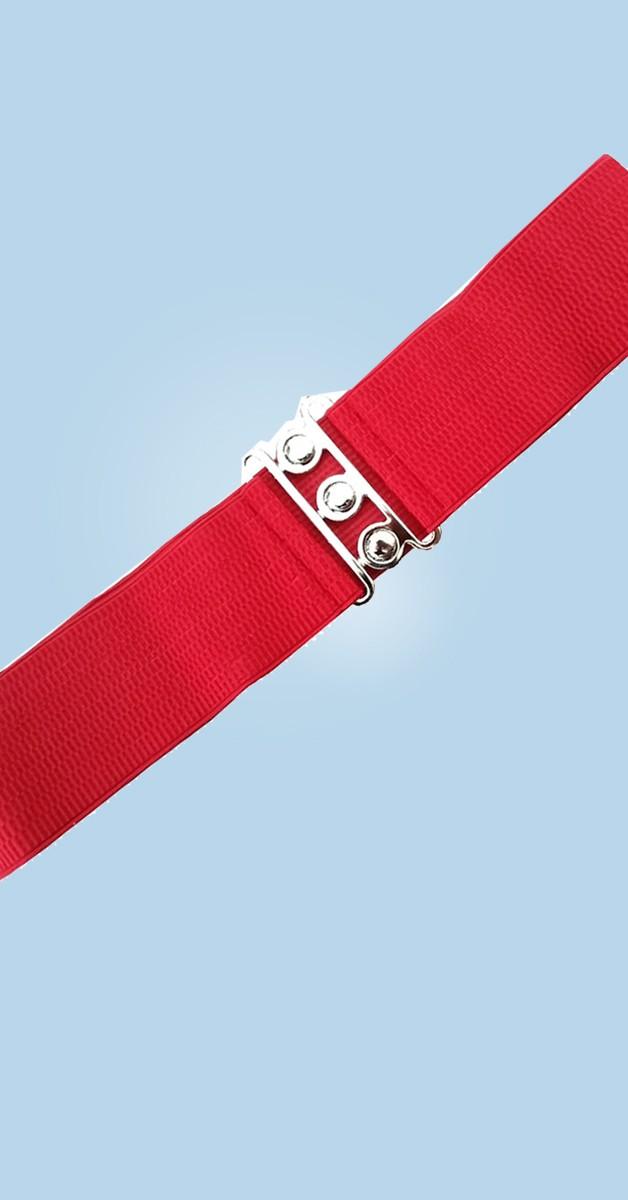 Pin Up Accessoires -50er Jahre Gürtel - Rot
