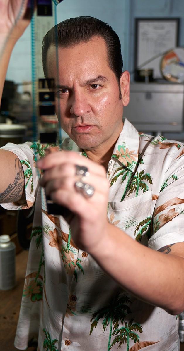 Vintage Retro Hemd - Oscar Tomika  50s Hawaii Shirt