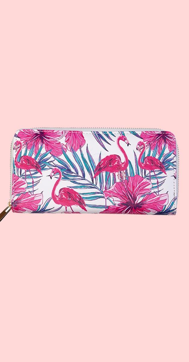 Vintage Accessoires - Pink Moon Brieftasche - Flamingo