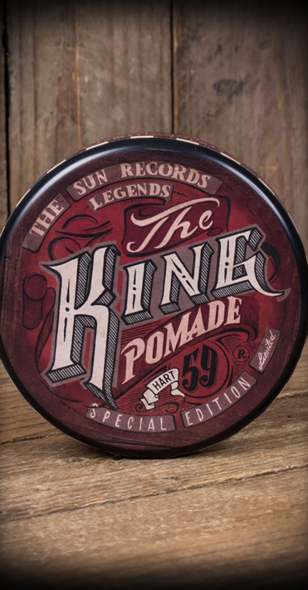 Rockabilly Accessoires - Schmiere - Special Edition The King - Hart