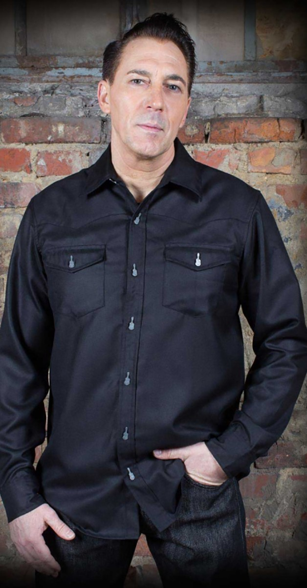 Rockabilly Mode - Classic Gentleman's Shirt - schwarz