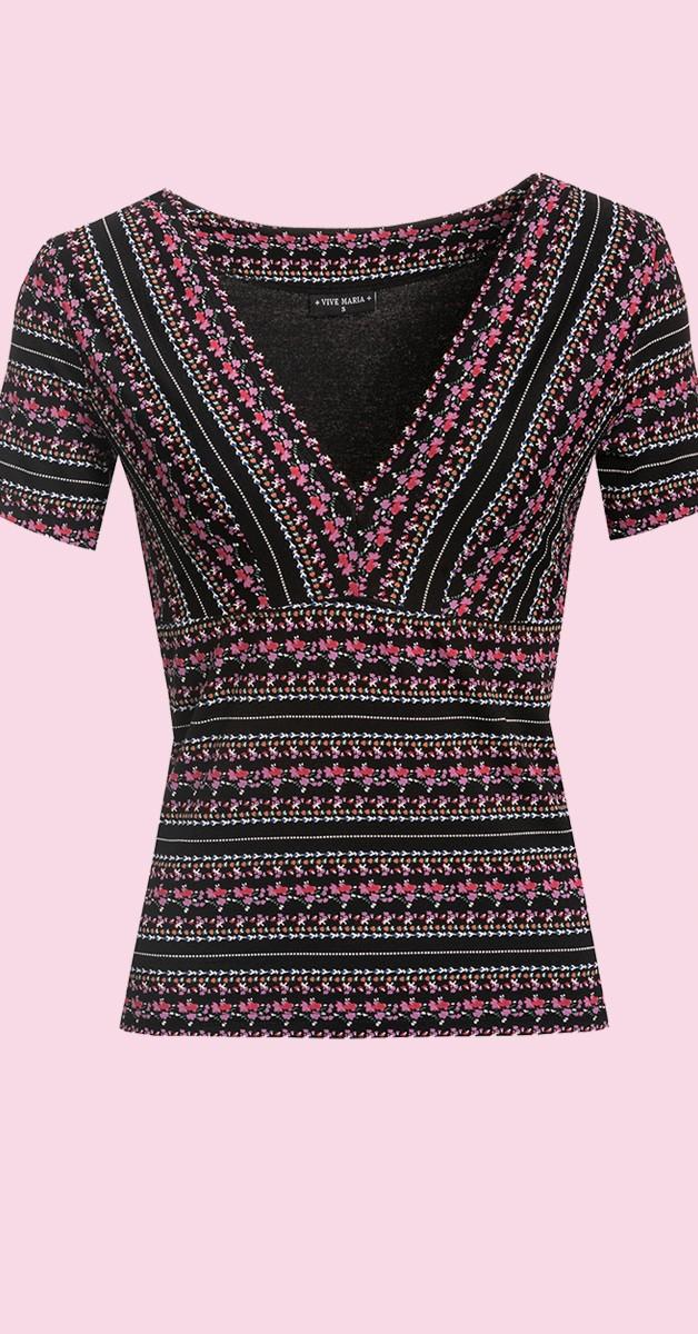 Vintage & Retro Stil Bekleidung - Vive Maria Midsummer Women T-Shirt
