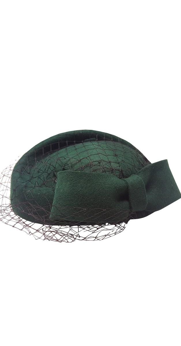Vintage Accessoires - Hütchen - Lucy Hat - Grün