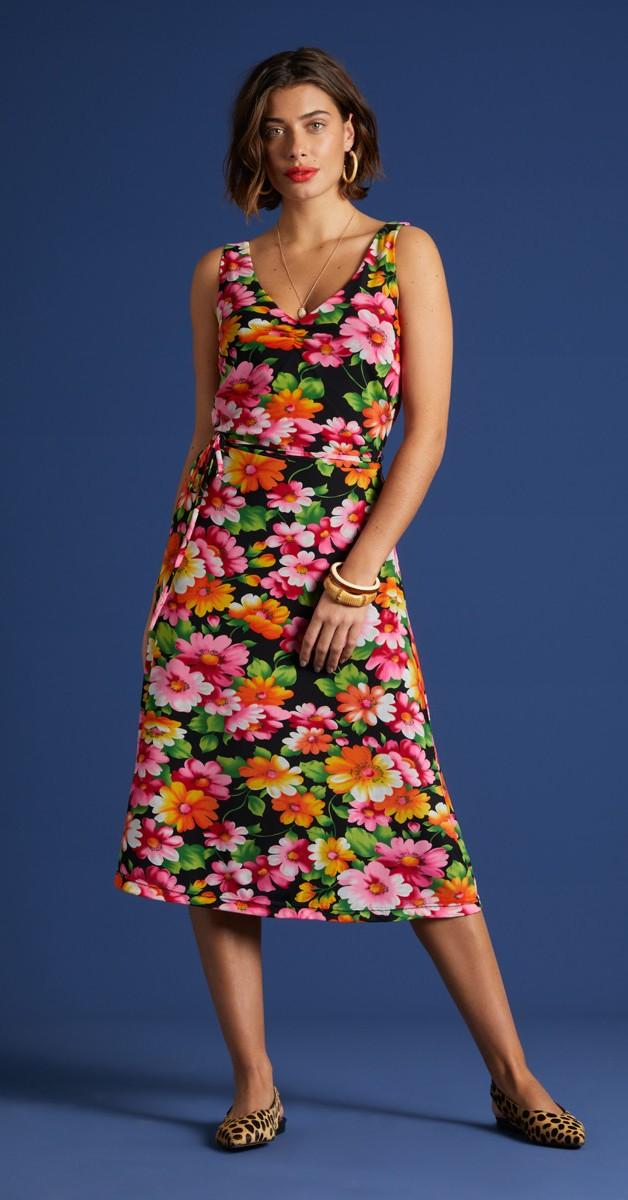 Retro Stil Mode- Kleid - Anna Dress Cali