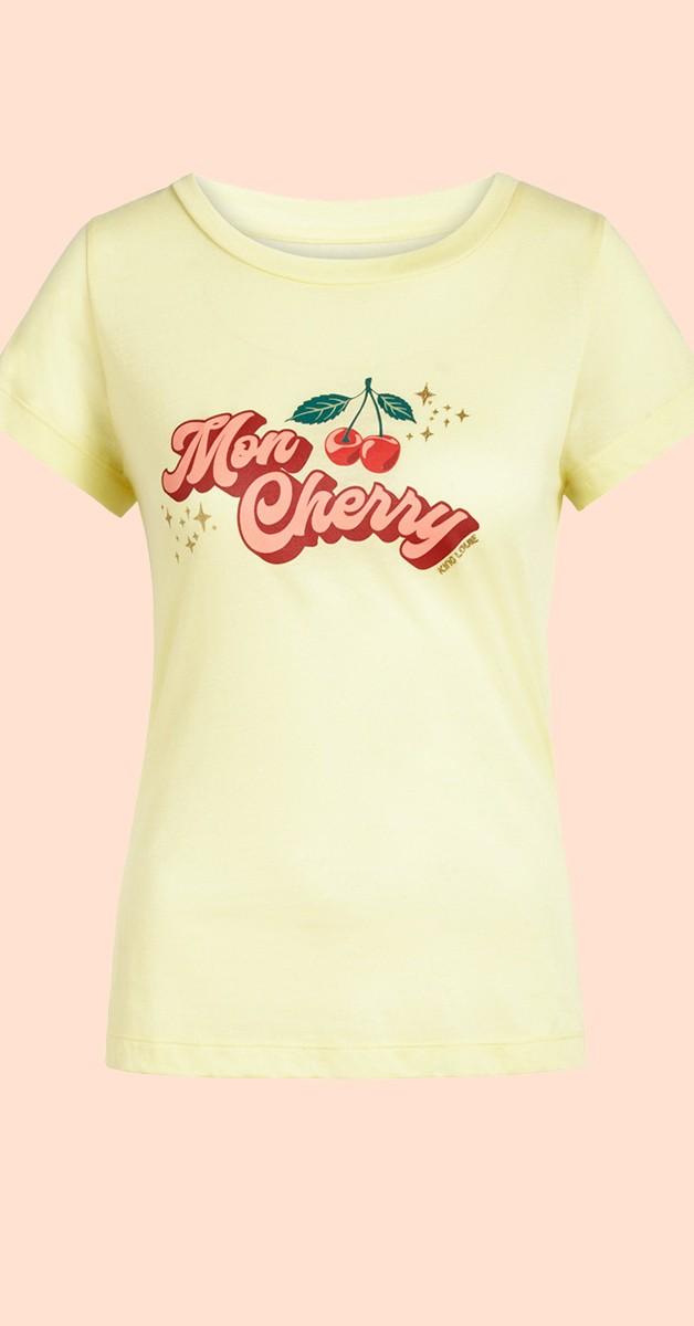 Retro Stil Bekleidung - T'shirt - Cath Tee Cherry