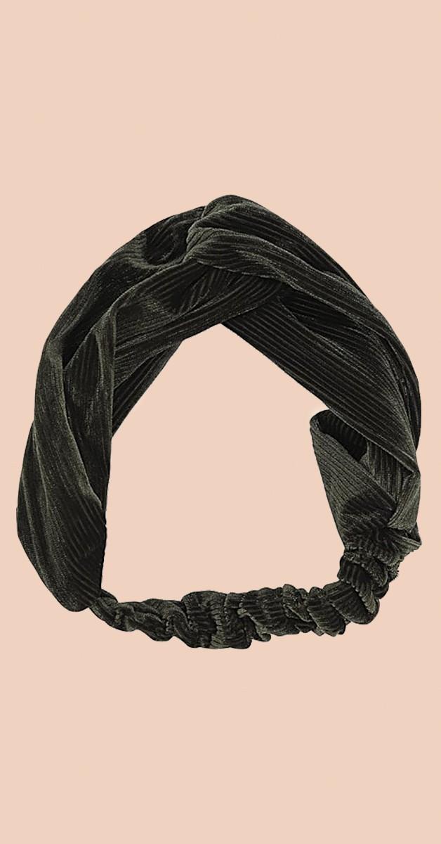 Vintage Accessoires - Kimmy Haarband - Moosgrün