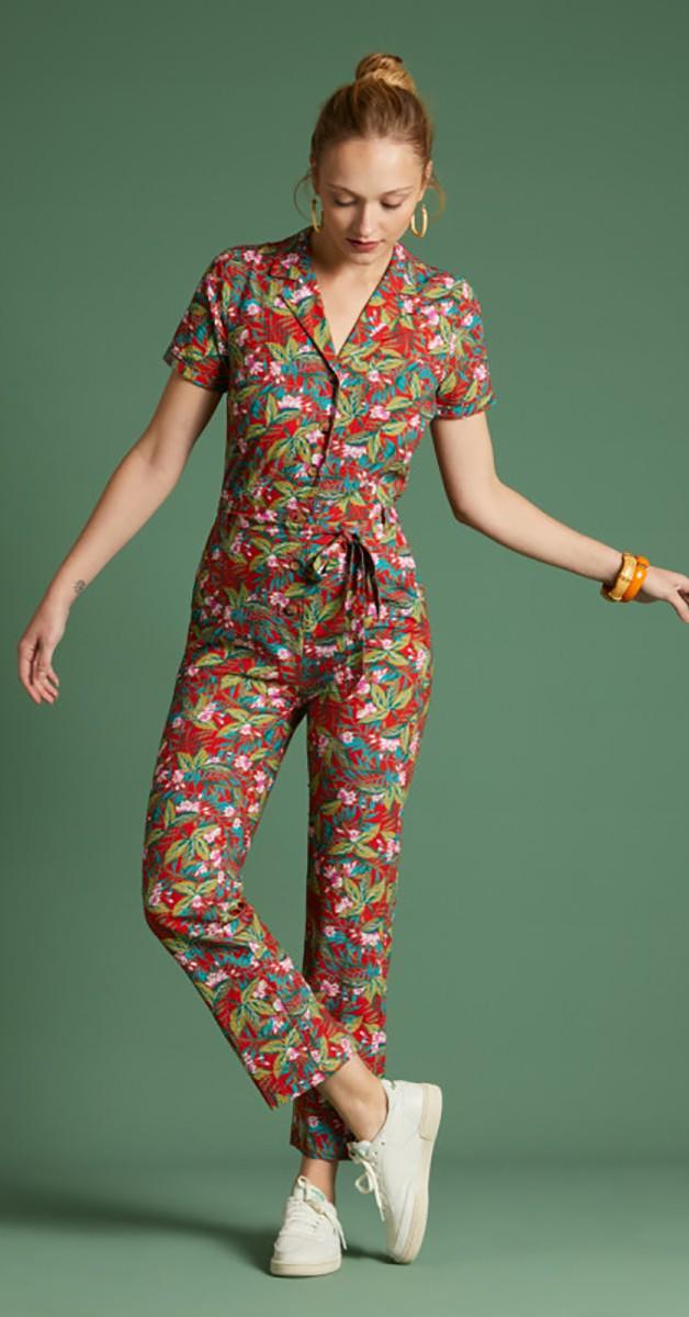 Vintage  Bekleidung - Gracie Jumpsuit Salina