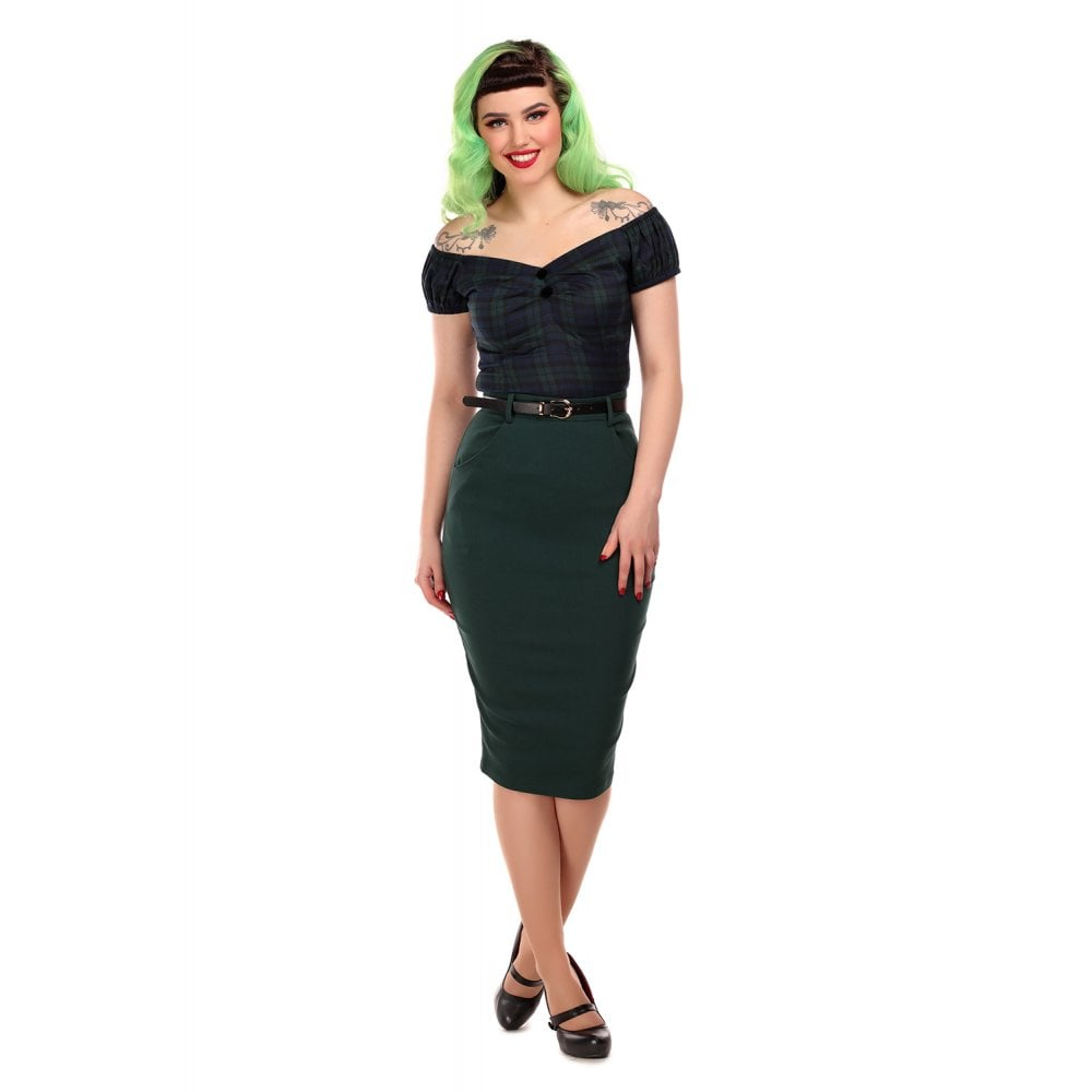 Diana Vintage Pencil Skirt