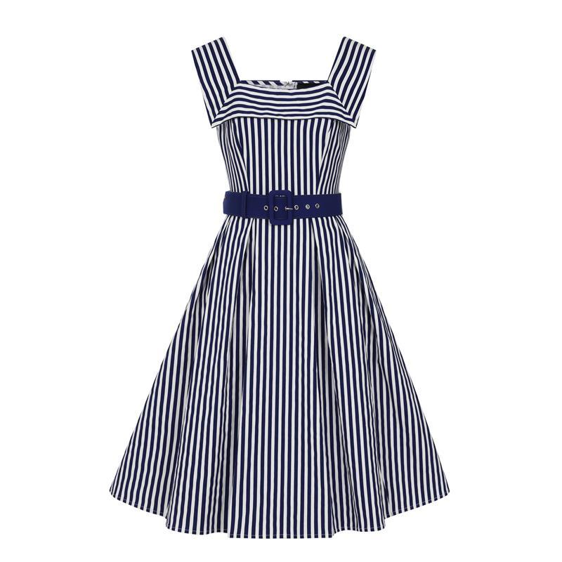 Gimmi Striped Swing-Dress