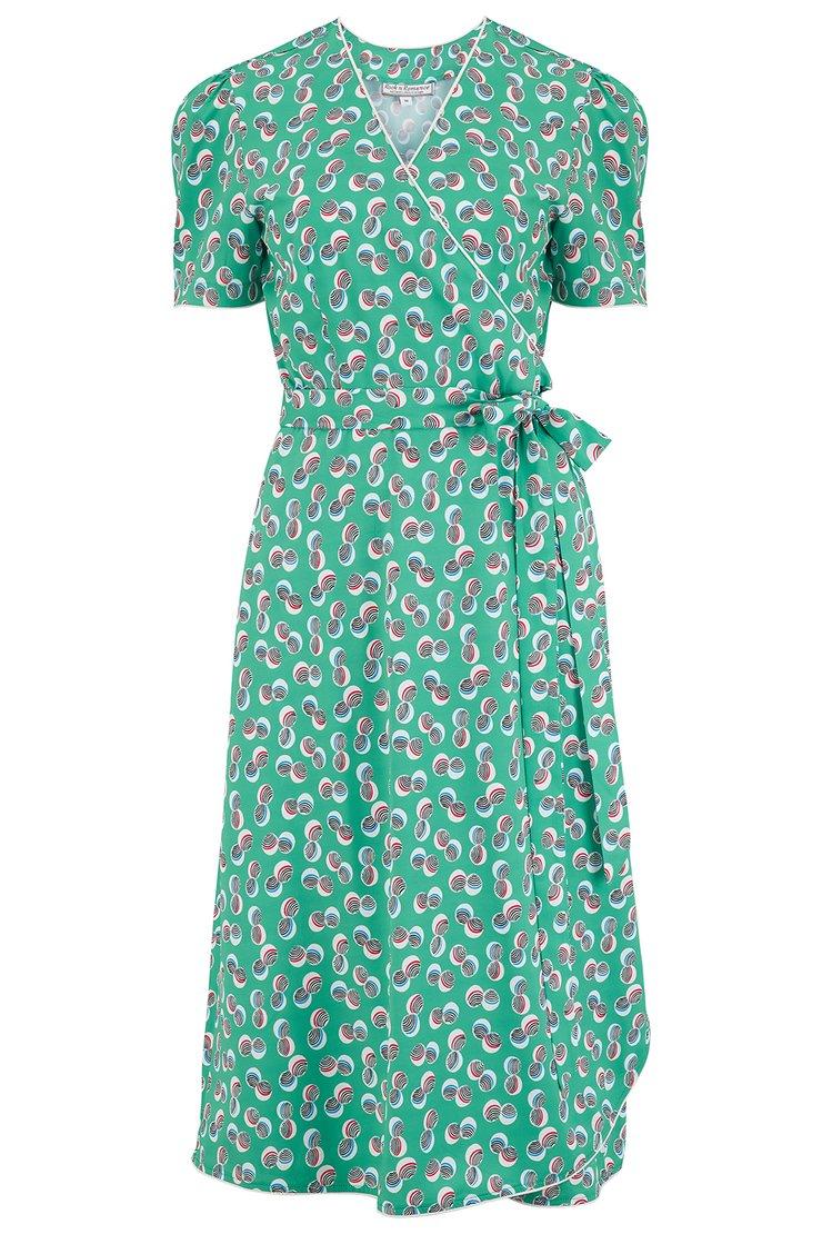 Cora Full Wrap Dress