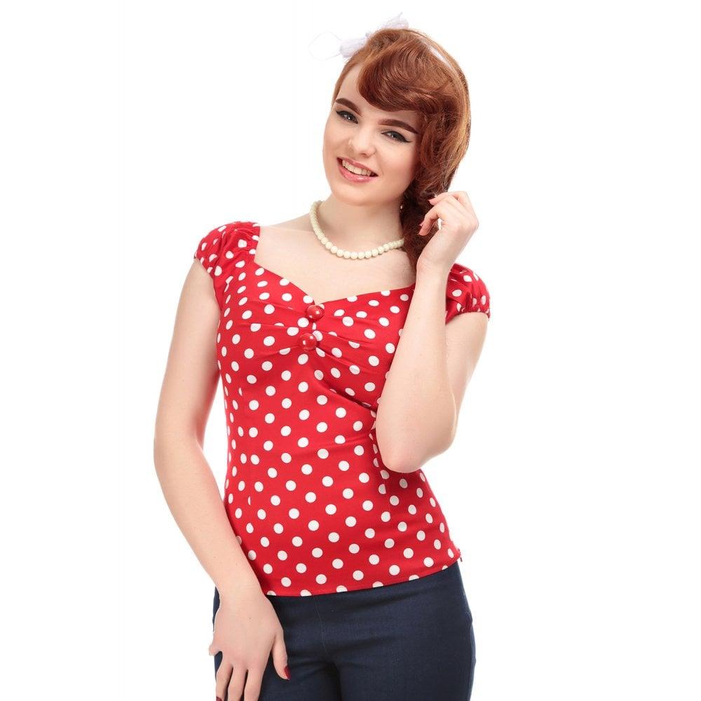 Dolores Polka Shirt