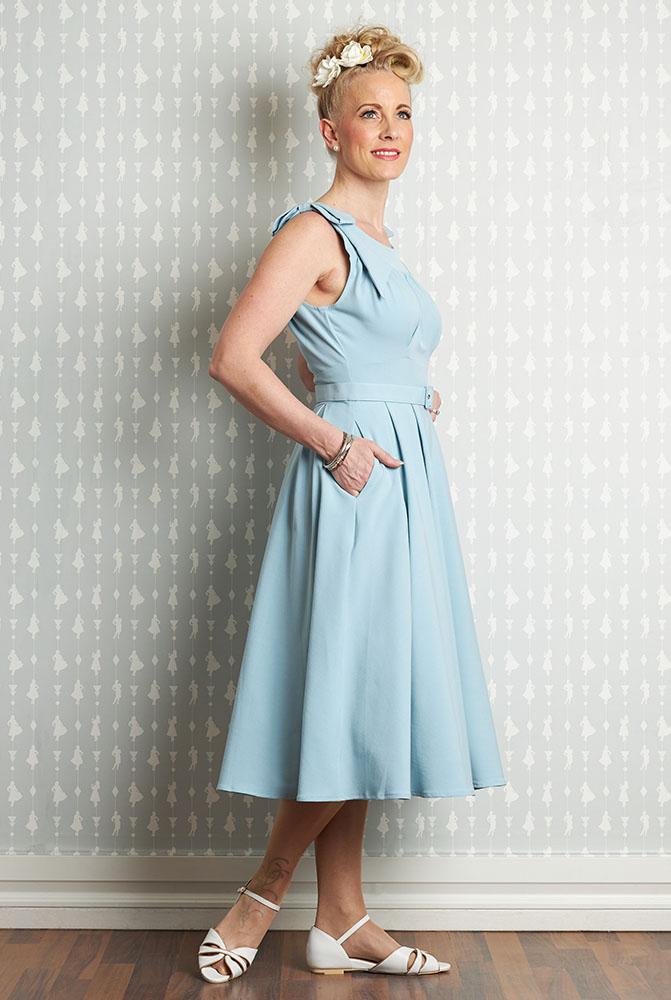 50er Jahre Kleid - Larisa-Sky