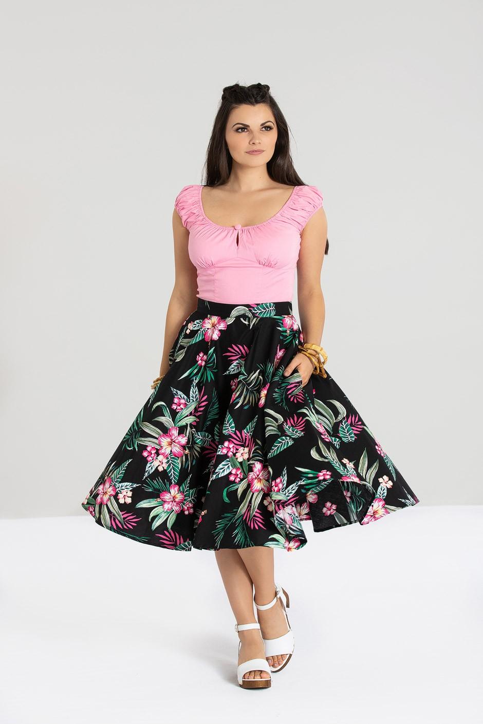 Kalani 50`S Skirt
