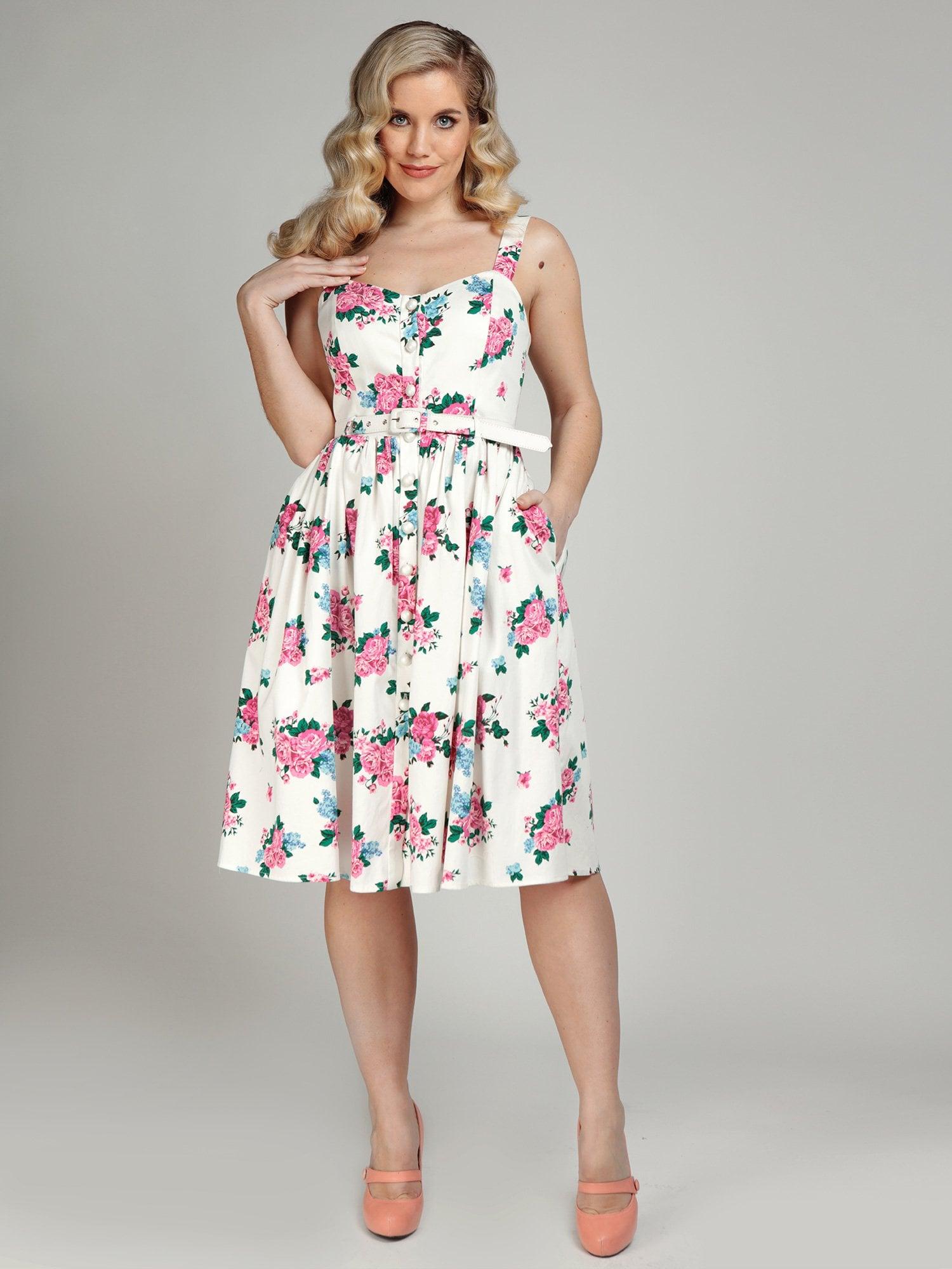 Jamima Floral Swing Dress