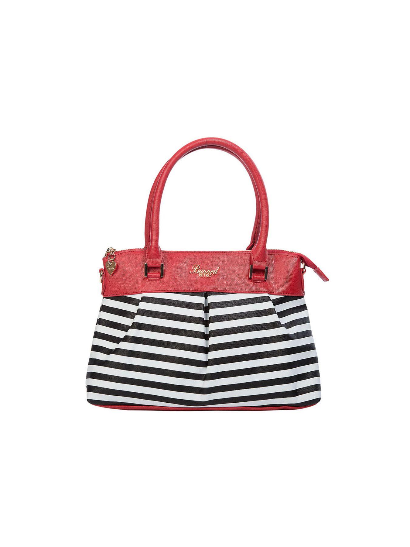 Living bay handbag red