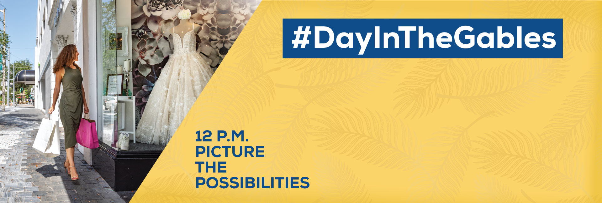 #DayInTheGables. 12 pm. Picture the Possibilities
