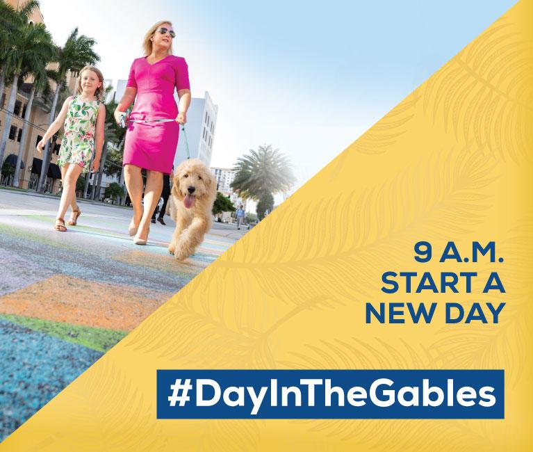 #DayInTheGables. 9 A.M. Start a New Day