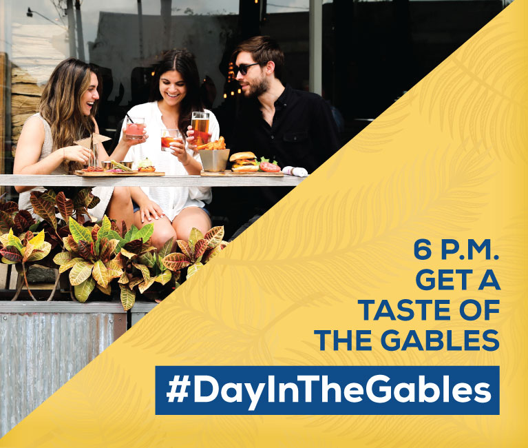 #DayInTheGables. 6pm. Picture the Possibilities