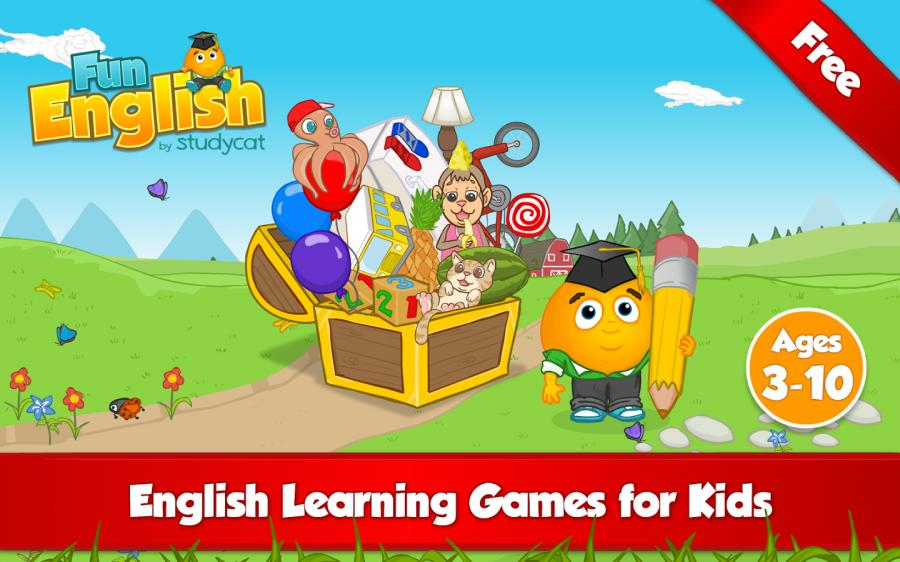 Phần mềm tiếng Anh miễn phí – Fun English Language Learning Game for iOS.