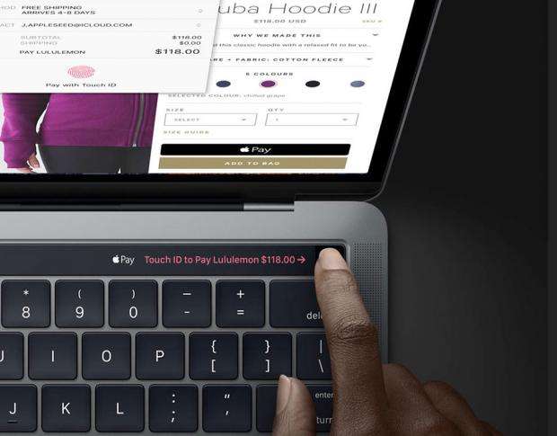Touch ID trên MacBook Pro 2016